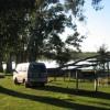 Campen mit Blick auf den kleinen See