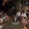 Beim Eintopfessen mit unseren Campernachbarn
