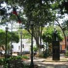 Gibts in jedem Ort: einen Plaza Bolivar