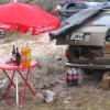 Kiosko auf 2000m - jeder trinkt hier Fernet-Cola