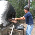 Ricardo beim grillen!