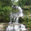 Haufenweise Wasserfaelle kreuzen unseren Weg