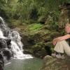 Unser erster schoener Wasserfall