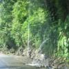 LKW-Waschstrasse an der Route nach Bogota