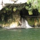 ...am Wasserfall...