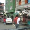 Hutverkaeufer in Manizales