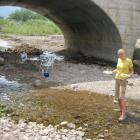 Mittagessen am Fluss