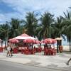 Cafes an der Copacabana