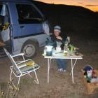 Campen in der Pampa
