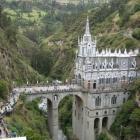 Die Kirche Las Lajas ...
