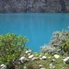 Die milchige und tuerkisblaue Lagune...