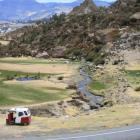 Waschfrauen in den peruanischen Anden