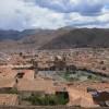 Sagenhafter Blick auf Cusco