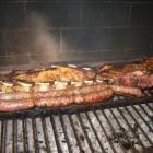 Argentinisches asado, perfekter Grill beim Norbert