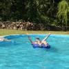 Der OVI ist da, erstmal in den Pool und dann ...