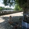 42 Grad im Schatten, wir brauchen agua fria!