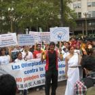 Unsere erste Demo, free Tibet