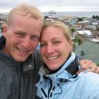 Wir in Punta Arenas