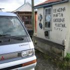 Tankstelle im N.P. Torres del Paine