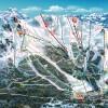Skikarte - Cerro Cathedral bei S. C. de Bariloche