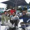Auch im Schnee, ein Quilmes schmeckt immer!