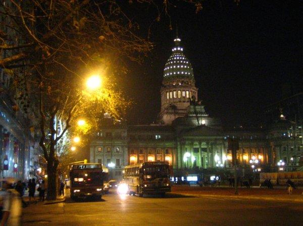 Congreso bei Nacht