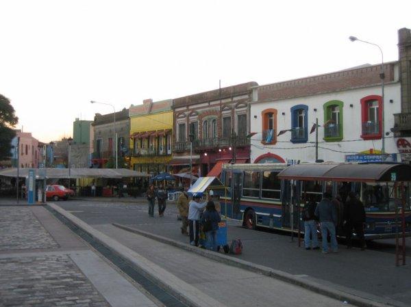 Das Hafenviertel...