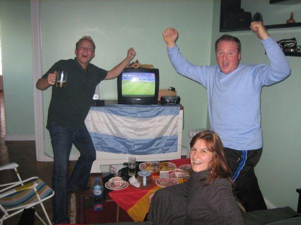 Deutsch- argentinische Fussballfreunde - noch!