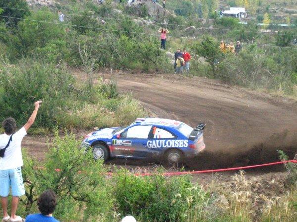 Sebastian Loeb - der Gewinner der Ralley Argentina