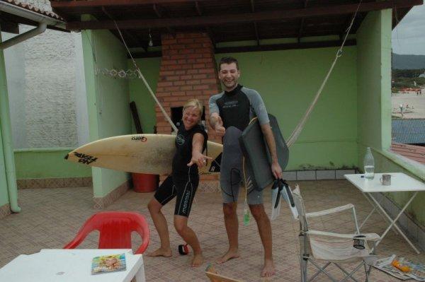 Unser Surfergruss