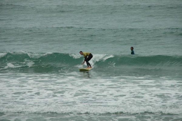 Yeah, ich reite die Welle!
