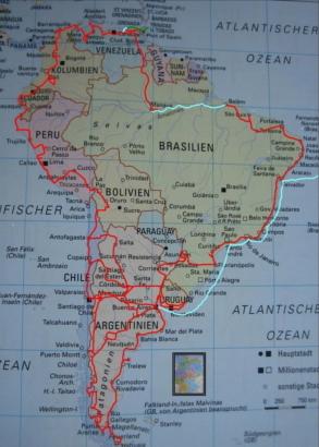 Landkarte Hauptseite