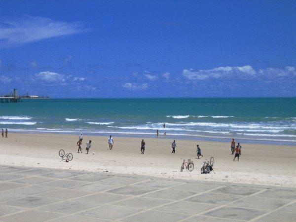 Am Strand von Maceio