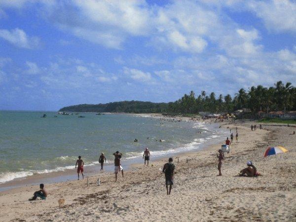 Der oestlichste Strand Brasiliens