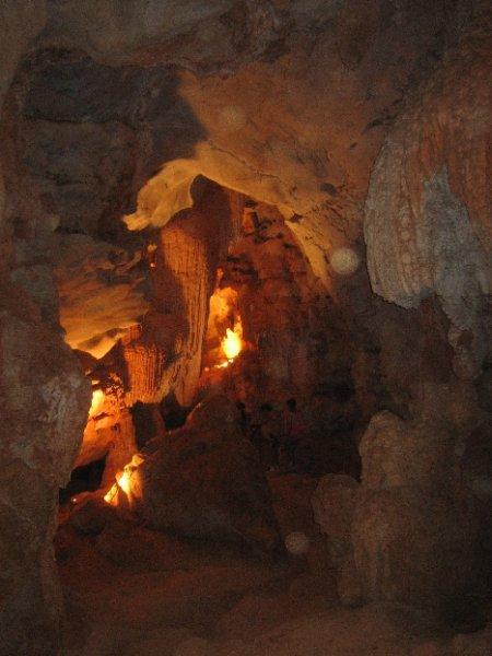 Besuch in einer Grotte