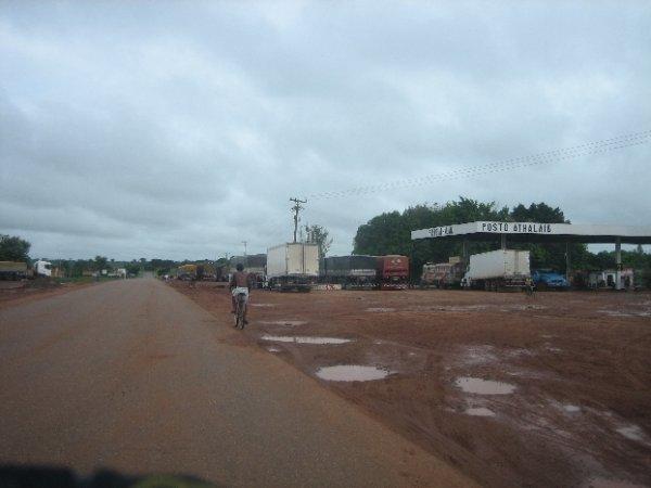 Typische brasilianische Tankstelle