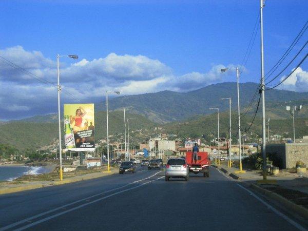 Fahrt nach Carupano
