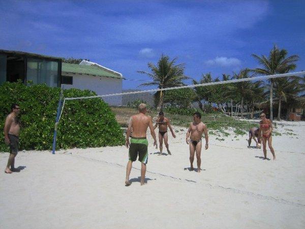 Beachvolleyball ist toll!