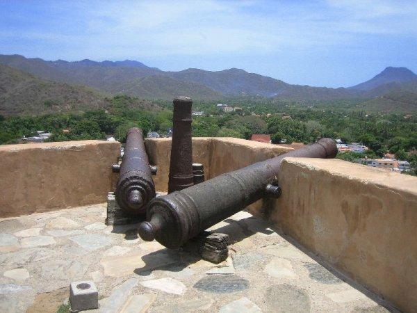 Eine Festung im Herzen der Insel