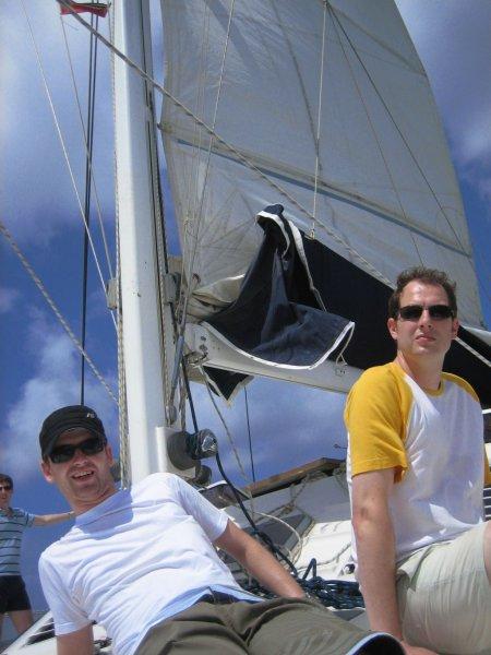 I am sailing...