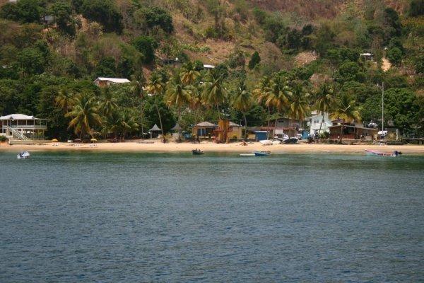 ...die Bucht von Castara