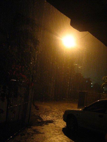 Endlich Regen!