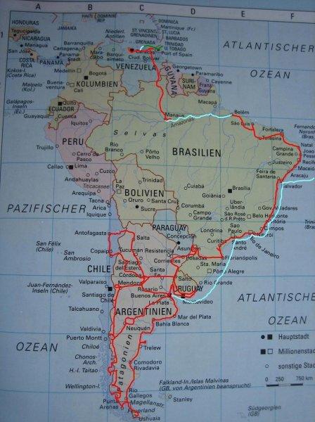 Landkarte 06-07