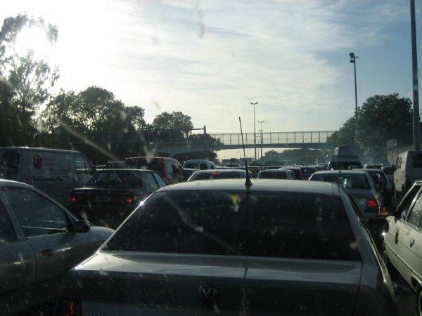 Verkehrschaos in B.A.!