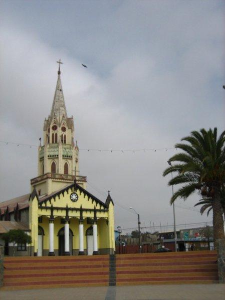 Dorfplatz in Caldera