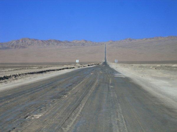 Auf dem Weg zur Atacama