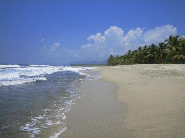 Bei dem tollen Strand...