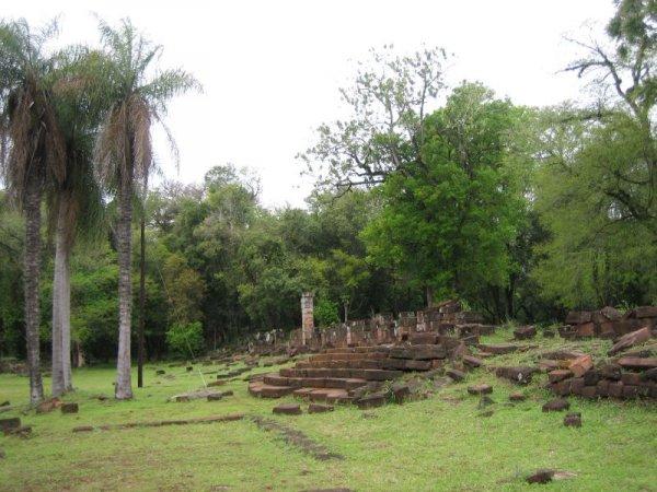 Ruinen von Santa Ana