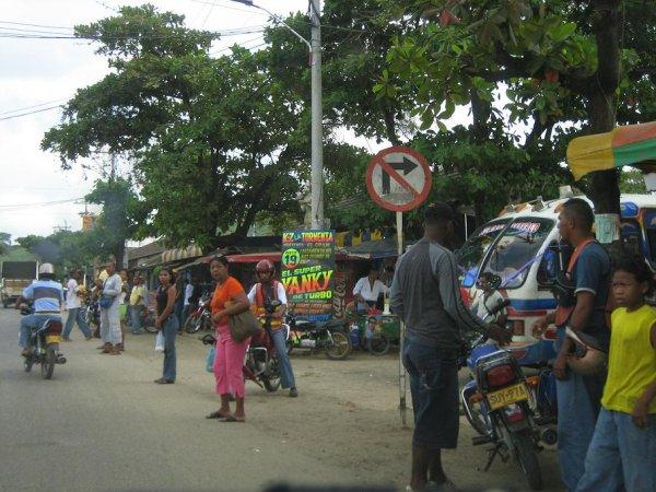 Strassenleben in Kolumbien!