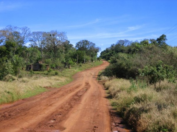 Fahrt durch Misiones, abseits der grossen Strassen